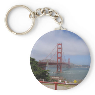 Golden Gate Bridge II Keychain