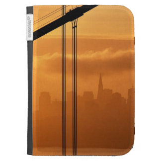 Golden Gate Bridge in front of the San Francisco Kindle Keyboard Cases