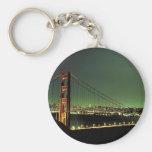 Golden Gate Bridge in Green Key Chain