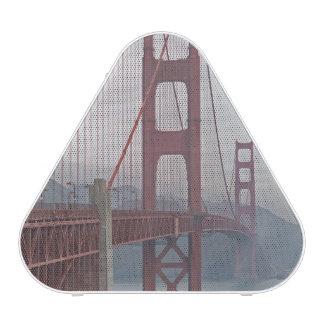 Golden gate bridge in mist. bluetooth speaker