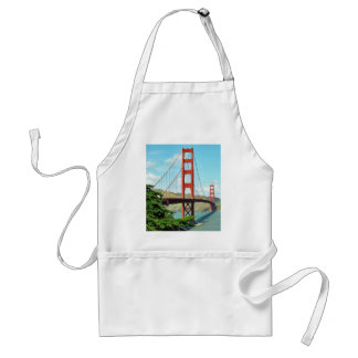 Golden Gate Bridge In San Francisco Adult Apron