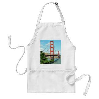 Golden Gate Bridge In San Francisco Adult Apron