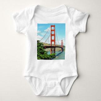 Golden Gate Bridge In San Francisco Baby Bodysuit