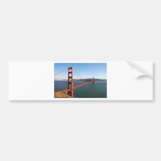 Golden Gate Bridge in San Francisco Bumper Sticker