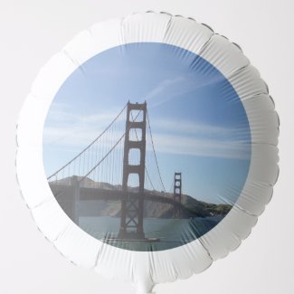 Golden Gate Bridge in San Francisco, California Balloon