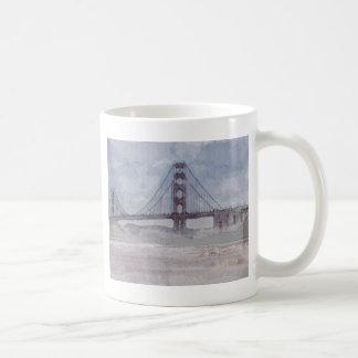 Golden Gate Bridge in San Francisco California Coffee Mug