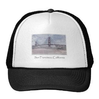 Golden Gate Bridge in San Francisco California Mesh Hat