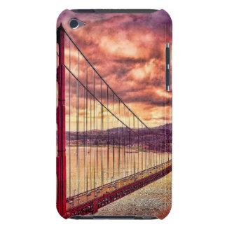 Golden Gate Bridge in San Francisco, California. iPod Case-Mate Case