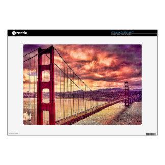 Golden Gate Bridge in San Francisco, California. Laptop Skin