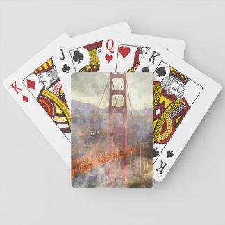 Golden Gate Bridge in San Francisco California Playing Cards
