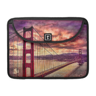 Golden Gate Bridge in San Francisco, California. Sleeve For MacBooks