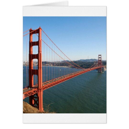 Golden Gate Bridge in San Francisco Card