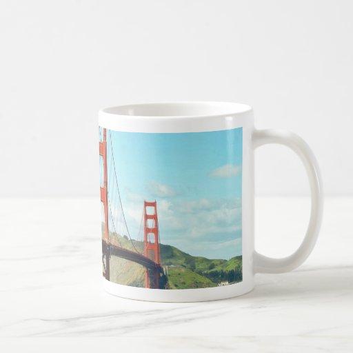 Golden Gate Bridge In San Francisco Coffee Mug