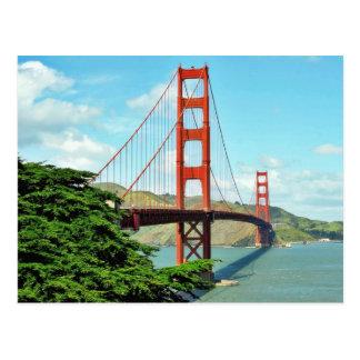 Golden Gate Bridge In San Francisco Post Cards