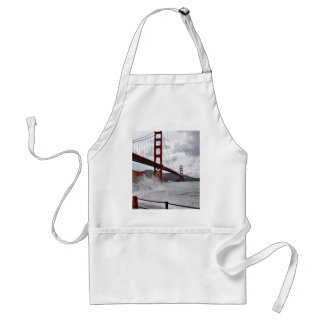 Golden Gate Bridge In San Francisco Seen From Fort Adult Apron