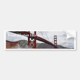 Golden Gate Bridge In San Francisco Seen From Fort Bumper Sticker