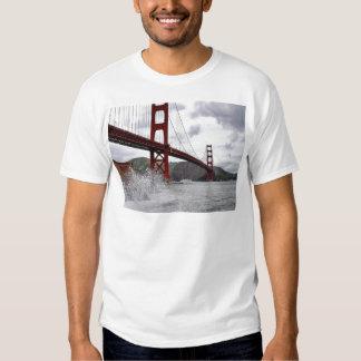 Golden Gate Bridge In San Francisco Seen From Fort T Shirt