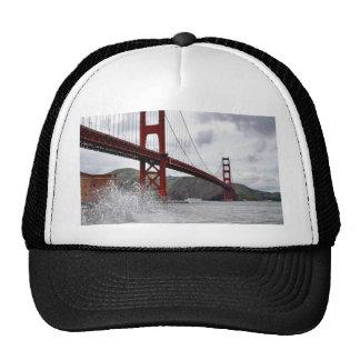 Golden Gate Bridge In San Francisco Seen From Fort Trucker Hat