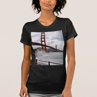 Golden Gate Bridge In San Francisco Seen From Fort T Shirts