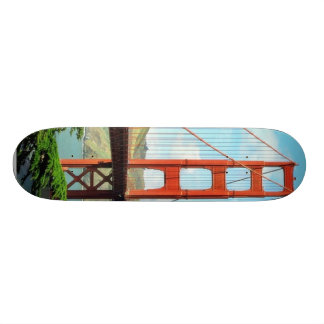 Golden Gate Bridge In San Francisco Skateboard Deck
