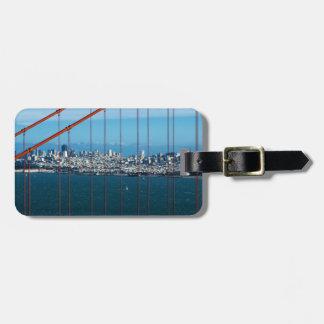 Golden Gate Bridge Travel Bag Tags