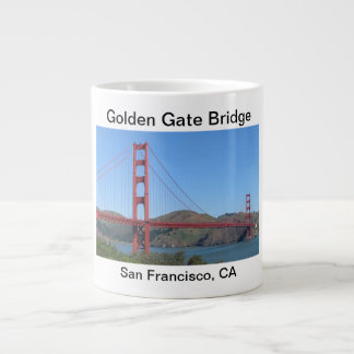 Golden Gate Bridge Mug Extra Large Mugs