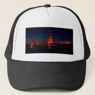 Golden Gate Bridge Nighttime Trucker Hat