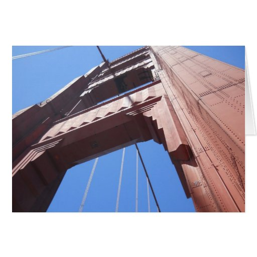 Golden Gate Bridge Notecard 1