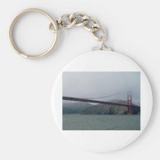 Golden Gate Bridge on a Foggy Day Key Chain