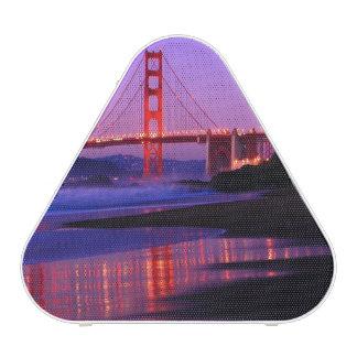 Golden Gate Bridge on Baker Beach at Sundown Bluetooth Speaker
