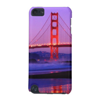 Golden Gate Bridge on Baker Beach at Sundown iPod Touch 5G Covers