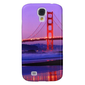 Golden Gate Bridge on Baker Beach at Sundown Galaxy S4 Covers
