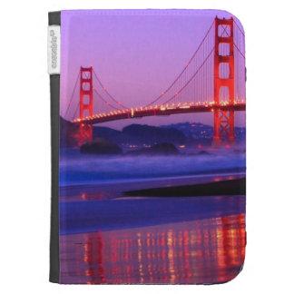 Golden Gate Bridge on Baker Beach at Sundown Kindle 3G Cover