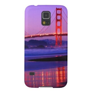 Golden Gate Bridge on Baker Beach at Sundown Cases For Galaxy S5