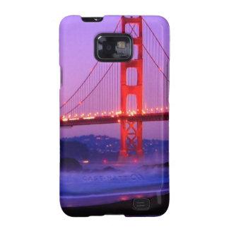 Golden Gate Bridge on Baker Beach at Sundown Galaxy S2 Case