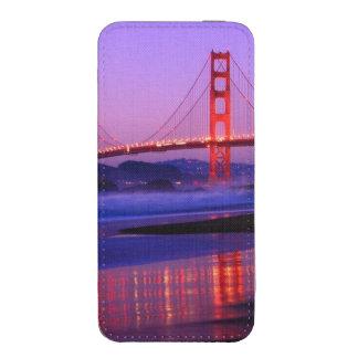 Golden Gate Bridge on Baker Beach at Sundown