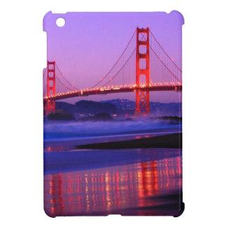 Golden Gate Bridge on Baker Beach at Sundown Cover For The iPad Mini