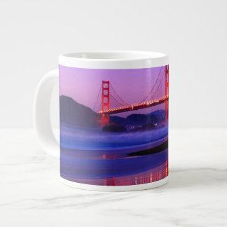 Golden Gate Bridge on Baker Beach at Sundown Giant Coffee Mug