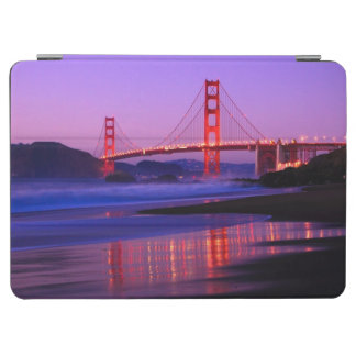 Golden Gate Bridge on Baker Beach at Sundown iPad Air Cover