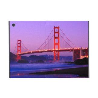 Golden Gate Bridge on Baker Beach at Sundown iPad Mini Covers
