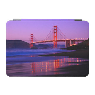 Golden Gate Bridge on Baker Beach at Sundown iPad Mini Cover