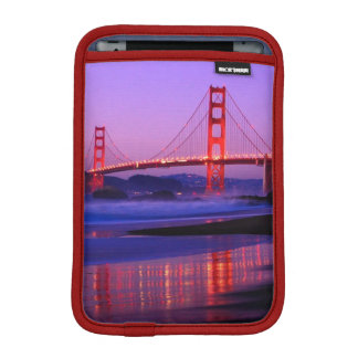 Golden Gate Bridge on Baker Beach at Sundown iPad Mini Sleeve