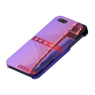 Golden Gate Bridge on Baker Beach at Sundown iPhone 5/5S Case