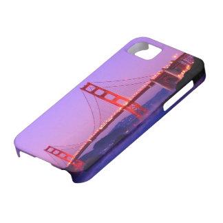 Golden Gate Bridge on Baker Beach at Sundown iPhone SE/5/5s Case