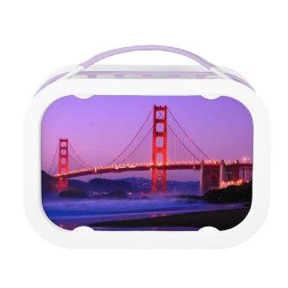 Golden Gate Bridge on Baker Beach at Sundown Yubo Lunch Boxes