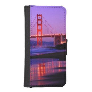 Golden Gate Bridge on Baker Beach at Sundown iPhone 5 Wallet