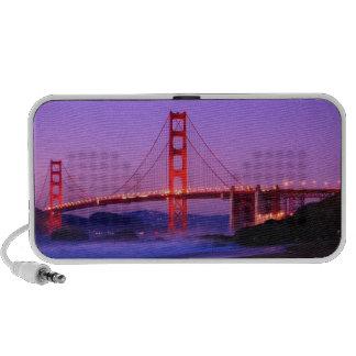 Golden Gate Bridge on Baker Beach at Sundown iPhone Speaker