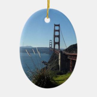 Golden Gate Bridge Christmas Tree Ornament