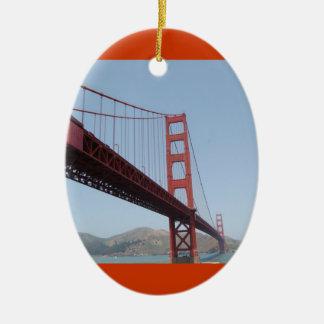 Golden Gate Bridge Ornament