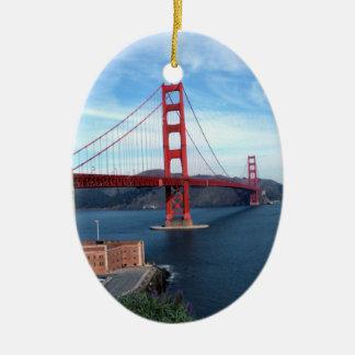 Golden Gate Bridge Christmas Ornaments